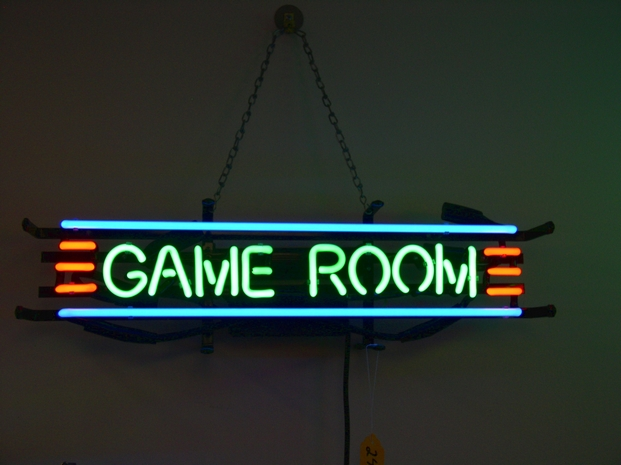 Neon Room Signs Neon Game Room Sign